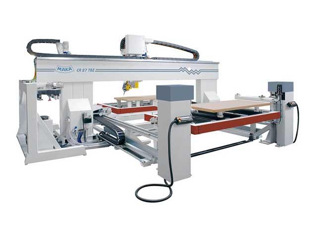 MAKA 5-axis machining center